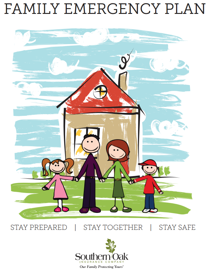 homeowners insurance florida - family emergency plan