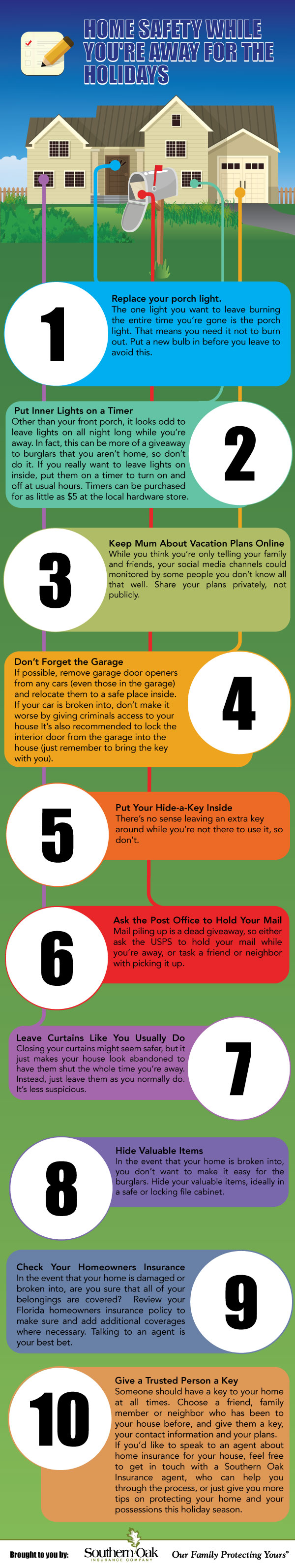 Home Safety While You're Away For The Holidays